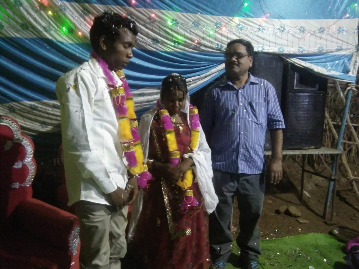 Mid India Sunderdader Church Wedding